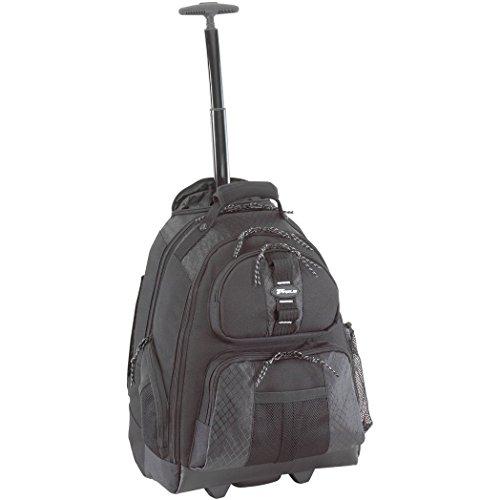 Targus TSB700EU City Gear Rolling Laptop Computer Backpack fits 15-15.6 inch - Black