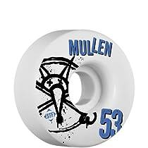Bones Wheels Mullen Number5 Wheels (4-Pack), 53mm