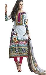 Vivacity Women's Cotton Unstitched Dress Material (Shehnaz-06_Multi_Free Size)