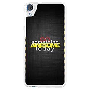 a AND b Designer Printed Mobile Back Cover / Back Case For HTC Desire 826 (HTC_826_2828)