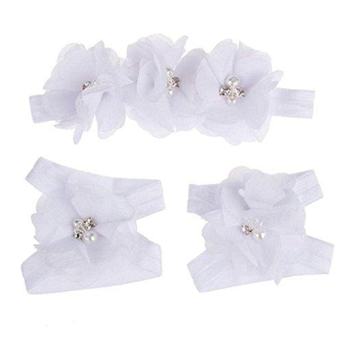 koly-vistoso-flor-pies-sandalias-venda-conjunto-para-bebes-blanco