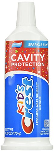 Crest Kids Paste Sparkle Neat Squeeze Toothpaste  6oz a pack of two