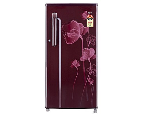 LG GL-B205XSHZ/XGHZ 190 Litres 5S Single Door Refrigerator (Heart)