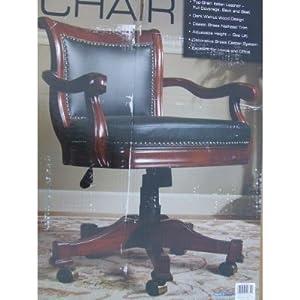 Top Grain Italian All Leather Executive Chair