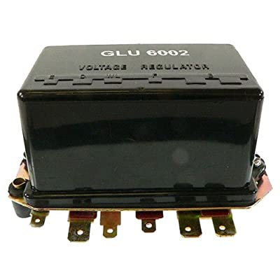 DB Electrical GLU6002 Ford Tractor Voltage Regulator for Models 2000, 3000, 4000 and 5000