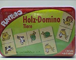 Holz-Domino Tiere 28 Teile ab 3 Jahre ISH 60545300