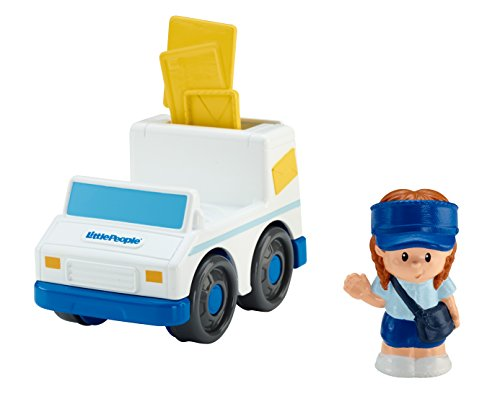 Fisher-Price Little People Mail Truck - 1