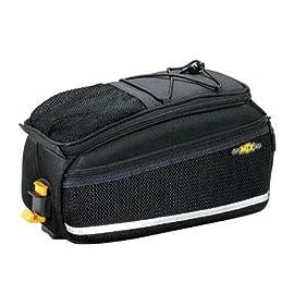 Topeak MTX Bicycle Trunk Bag EX w/ Rigid Molded Panels - Black - TT9631B