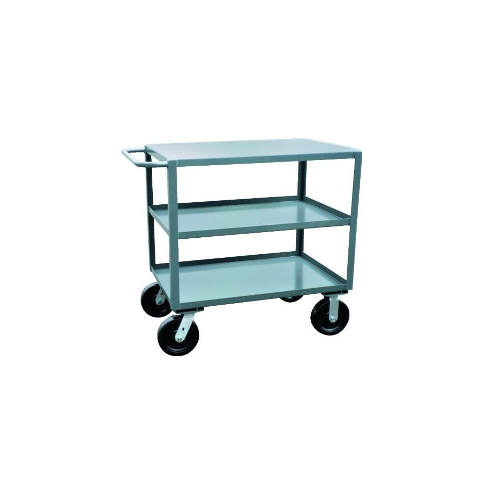Jamco Products Inc SK336 P8 GP Three Shelf Service Cart, 4800 Pound Capacity, 30 x 36