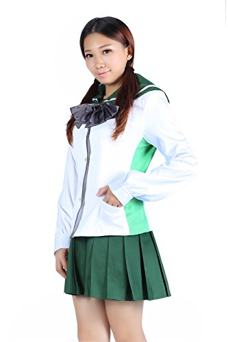 ICEMPs Highschool of the Dead Busujima Saeko / Miyamoto Rei Uniform V1 Set Kid S