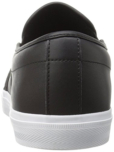 Lacoste Men's Gazon 316 1 Spm Fashion Sneaker, Black, 10.5 M US