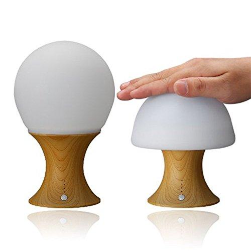 ATD-7-Farbe-Silikon-Gelb-Holzmaserung-Nachtlicht-Modellieren-Dose-Randomly-ndern-Timed-Reservierung-Round-Schreibtischlampe