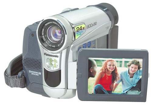 Panasonic PVGS15 MiniDV Compact Digital Camcorder w/24x Optical Zoom
