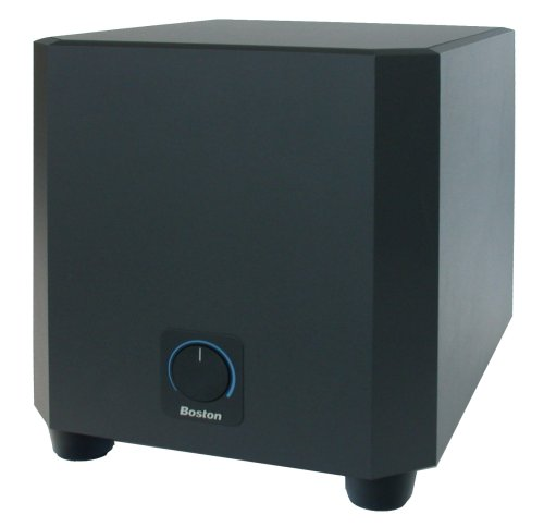 Boston Acoustics Pv500 10-Inch Powered Subwoofer