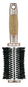 Conair Titanium Tourmaline Cork Round Mixed Boar Brush, Large