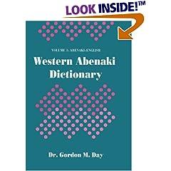 Western Abenaki Dictionary