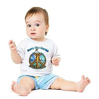 Funshirt Spaßshirt T-Shirt Baby Save the Earth