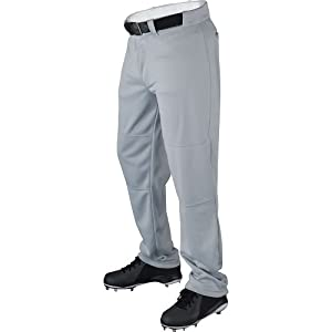 Wilson Men's Classic Relaxed Fit Baseball Pant, Grey, Small