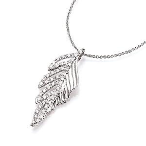 Spirit - New York Damen-Anhänger Silber rhodiniert Zirkonia weiß 99003793430