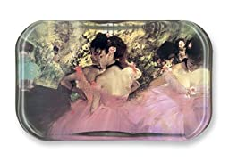 Dancers in Pink - Rectangle Glass Paperweight (2-1/2\