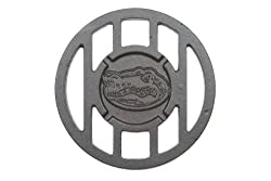 NCAA Florida Gators Sports Round Cast Iron Branding Grill Iron Accessory