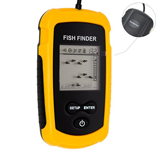 Venterior-Portable-Fish-Finder-Fishfinder-with-Wired-Sonar-Sensor-Transducer-and-LCD-Dispaly