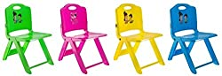 Wave Mart Folding Chairs (Blue, Green,Pink and Yellow)