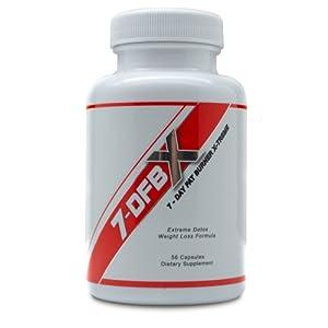 7dfbx - 7 Day Fat Burner X-treme - Detox - Weight Loss Pill by 7-DFBX