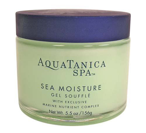 Bath & Body Works Aquatanica Sea Moisture Gel Souffle with Exclusive Marine Nutrient Complex 5.5 oz image