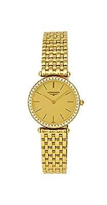 Longines La Grande Classique Agassiz 18kt Gold & Diamond Womens Watch L4.191.7.32.6