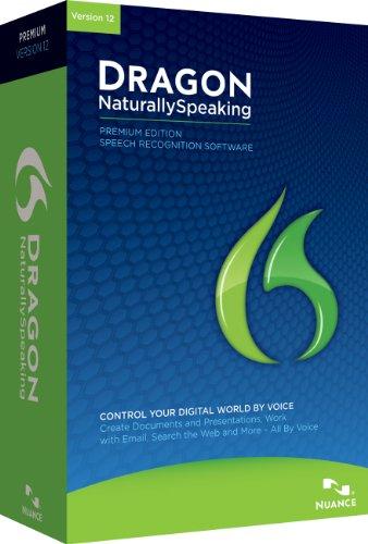Dragon NaturallySpeaking Premium 12.0, 2 User (PC)