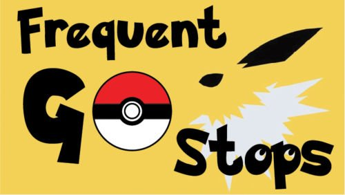 Pokemon GO Vinyl Decal Sticker - Frequent GO Stops (Halloween Lancaster Pa)