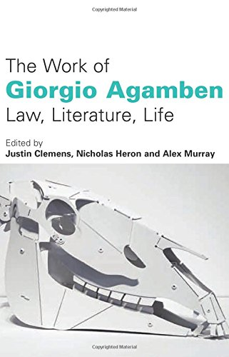 """critical analysis of giorgio agamben In pilate and jesus, giorgio agamben argues that pontius pilate never formally  condemned jesus of nazareth """"the traditional interpretation of."""