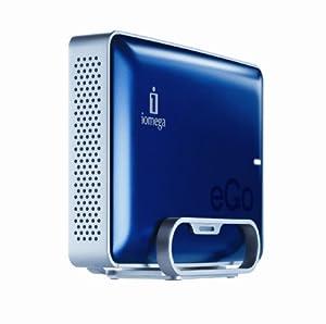 Iomega eGo 2 TB USB 2.0 Desktop External Hard Drive 34822 (Midnight Blue)