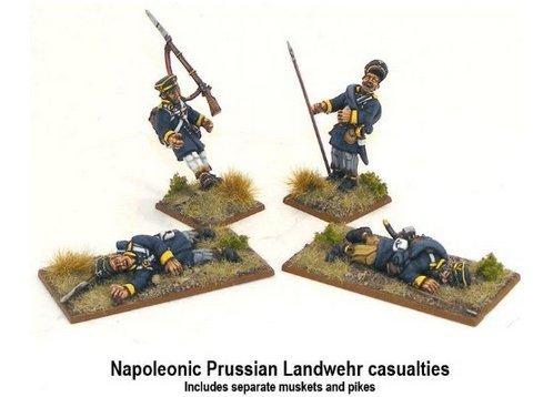 Napoleonic Prussian Landwehr Casualties