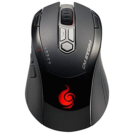 CM Storm Inferno - Gaming Mouse with 4000 DPI Twin Laser Sensor and 128KB Memory (SGM-4000-KLLN1-GP)