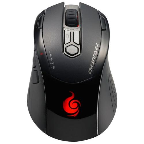 CM Storm Inferno - Gaming Mouse with 4000 DPI Twin Laser Sensor and 128KB Memory