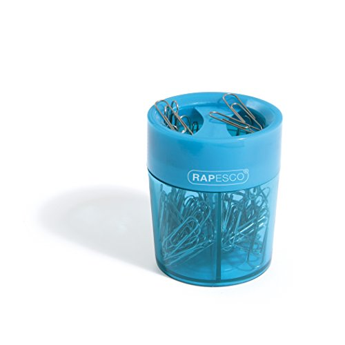 Rapesco Paper Clip Holder - Magnetic Holder With Paper Clips
