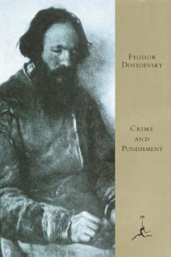 Large book cover: Crime and Punishment