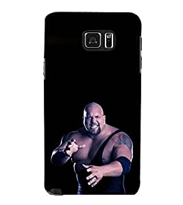 printtech WWE Big Show Back Case Cover for Samsung Galaxy Note 5 N920