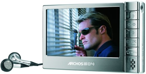 Archos 504 40GB Portable Digital Media Player and Recorder (500869)