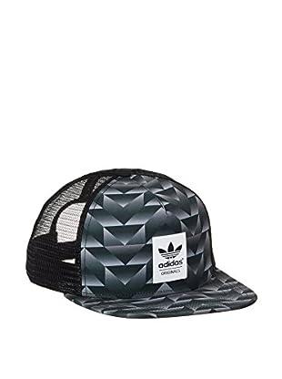 adidas Gorra Trucker Soccer (Negro / Gris / Blanco)