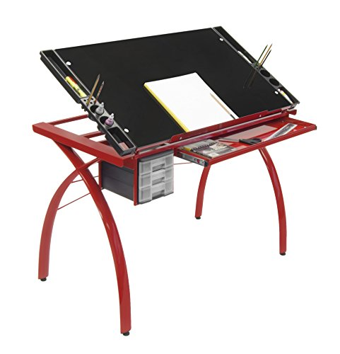 Folding Drafting Table front-1004848