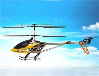 SongYang 8088-37 3 Channels RC Helicopter with Gyroscope (Yellow)