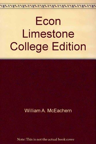 Econ Limestone College Edition
