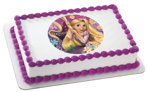 Tangled Rapunzel Edible Image Cake Decoration Topper