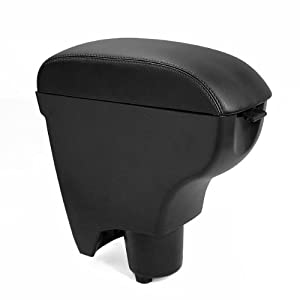 Amazon.com: Leather Black Console Center Armrest for Toyota Yaris 06