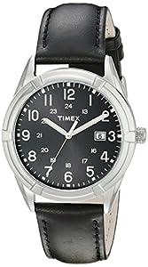 Timex Men's TW2P767009J City Collection Analog Display Quartz Black Watch