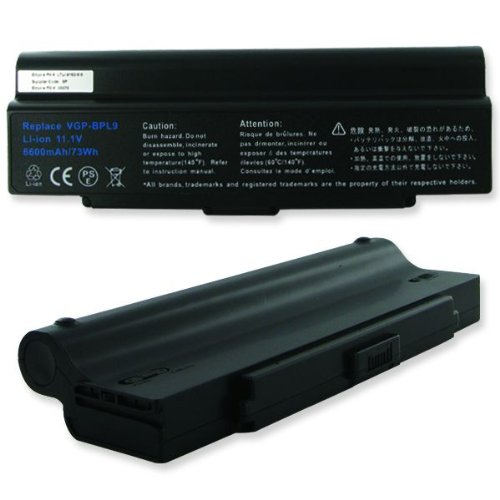 Click to buy 6600mA, 11.1V Replacement Li-Ion Battery for Sony VAIO VGN-CR490EBW Laptops - Empire Scientific #LTLI-9162-6.6 - From only $79.32