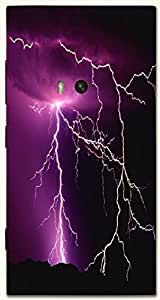 Prominent multicolor printed protective REBEL mobile back cover for Nokia Lumia 920 D.No.N-T-1263-N920